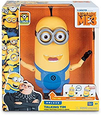 Amazon.com: Despicable Me Talking Minion Tim Toy Figure ...