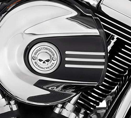 ハーレーダビッドソン/Harley-Davidson ウィリーG.・スカル・コレクション/エアクリーナートリム/61300217ハーレーパーツエアクリーナーカバー /ENGINE TRIM 61300217
