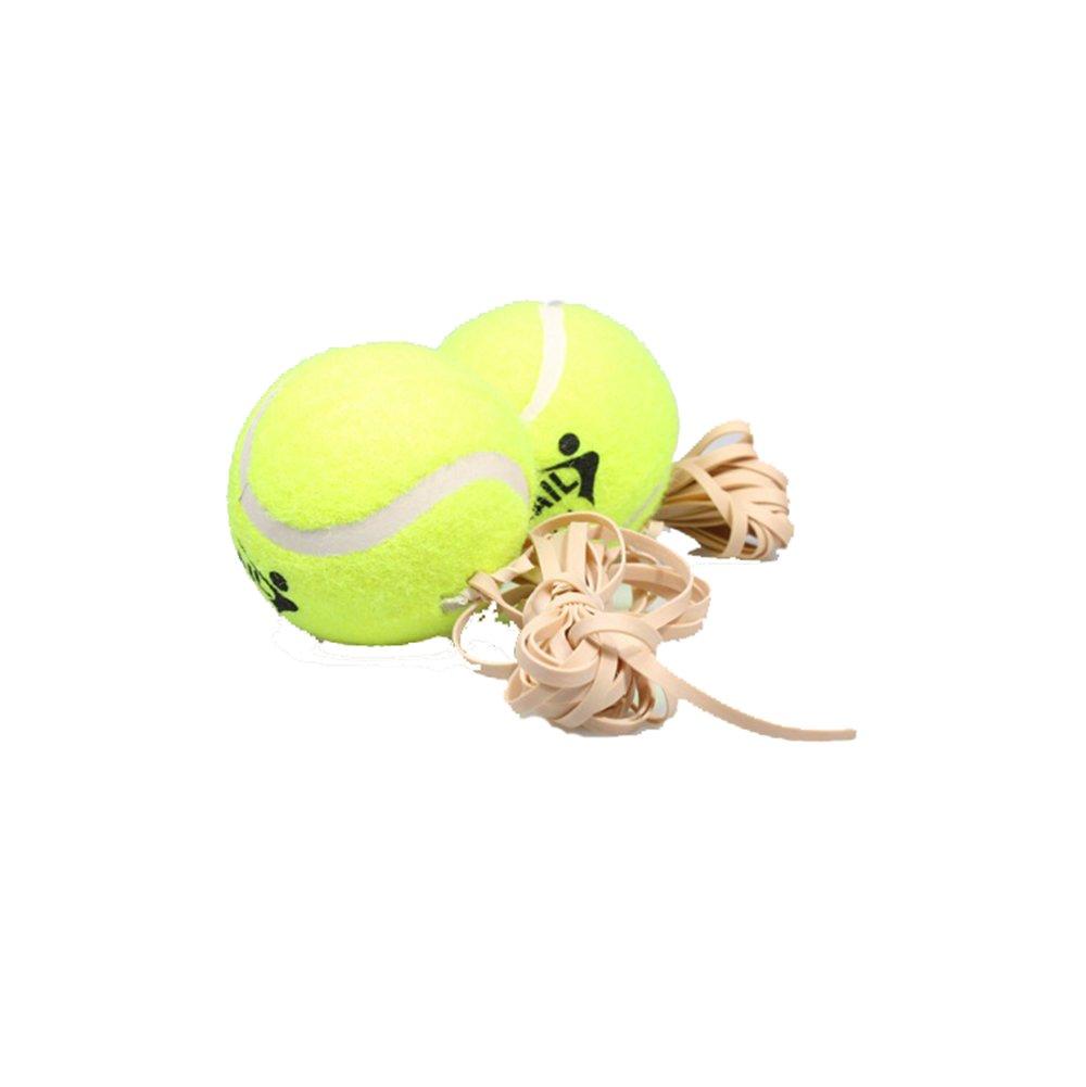 BIPY Tennis Balls with Elastic String for Beginner Junior Training Ball Children Trainer Sport Play Ball Pack of 1
