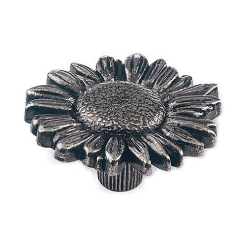 Siro Designs SD78-102 Flower Knob, 1.85-Inch, Antique/Tin Siro ()