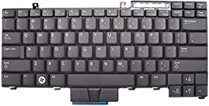 New Replacement for Dell E6400 E6410 E6500 M2400 M4500 PP27L E6510 M4400 Keyboard HT514 0HT514 0UK717 UK717 Non-Backlit No Pointer
