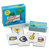 : Green Alligators, Zoo & Farm Animals Card Game
