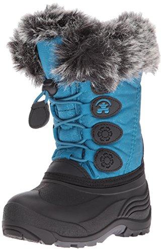 Kamik Kids' Snowgypsy Snow Boot, Teal, 10 Medium US Toddler