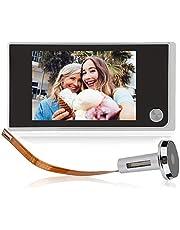 """3 .5""""LCD Kit de Teléfono con Timbre Intercomunicador, Timbre visual para el hogar, Cámara Electrónica con Visión Nocturna, Video Portero"""