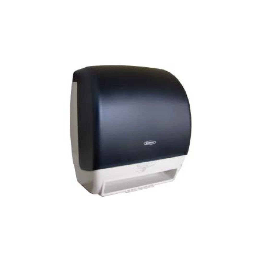 Bobrick 72974 Plastic Universal Surface Mounted Roll Towel Dispenser, 12-3/8'' Width x 15-1/4'' Height x 9-1/2'' Depth