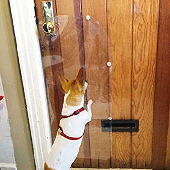 Amazon Com Delux Door Guard Pet Claw Innovation Protect All Your Doors From Dog