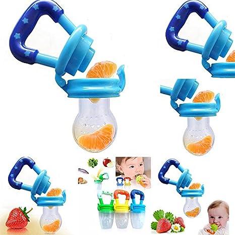 Skyeye Botellas Pezones Silicona Seguridad Infantil Alimento ...