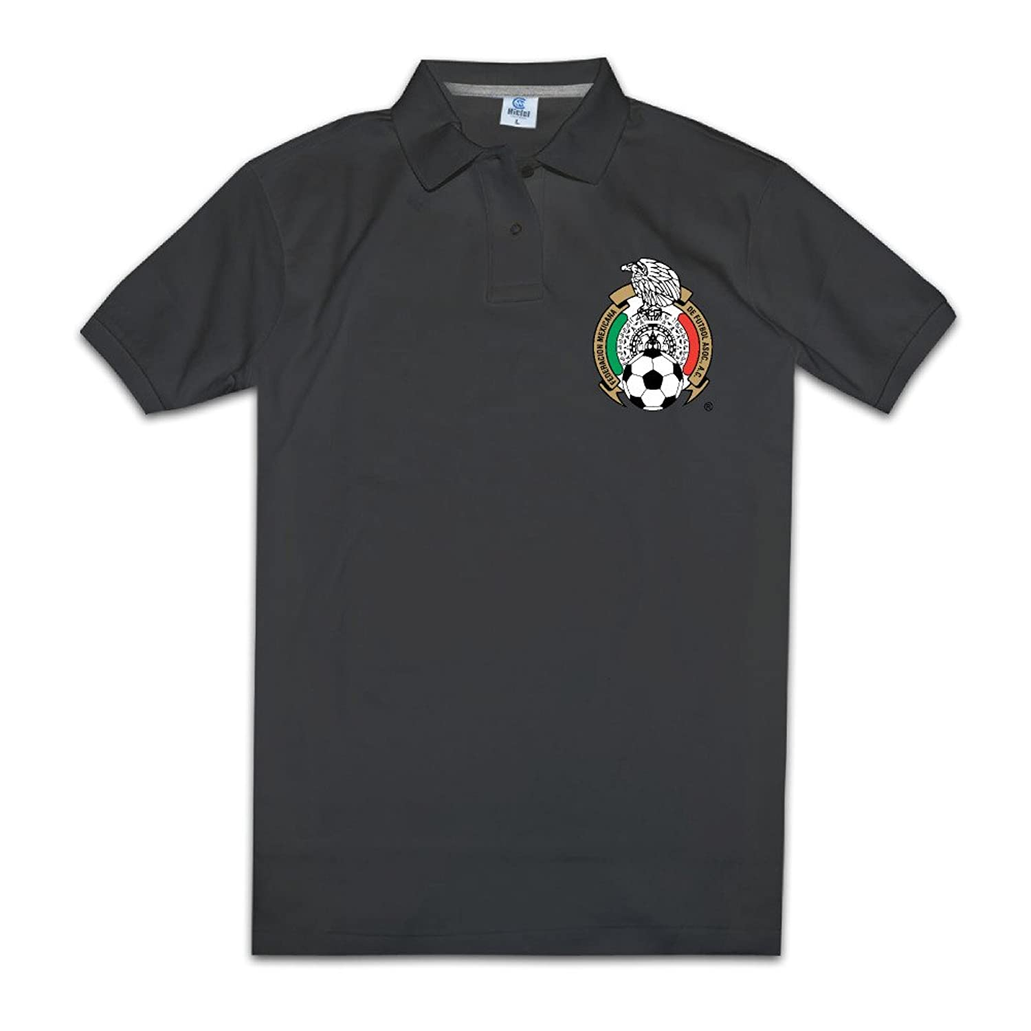 Boyfriend Vintage Brand New 2016 Copa America Mexico National Football Team Polo Tshirts Size S Color Black