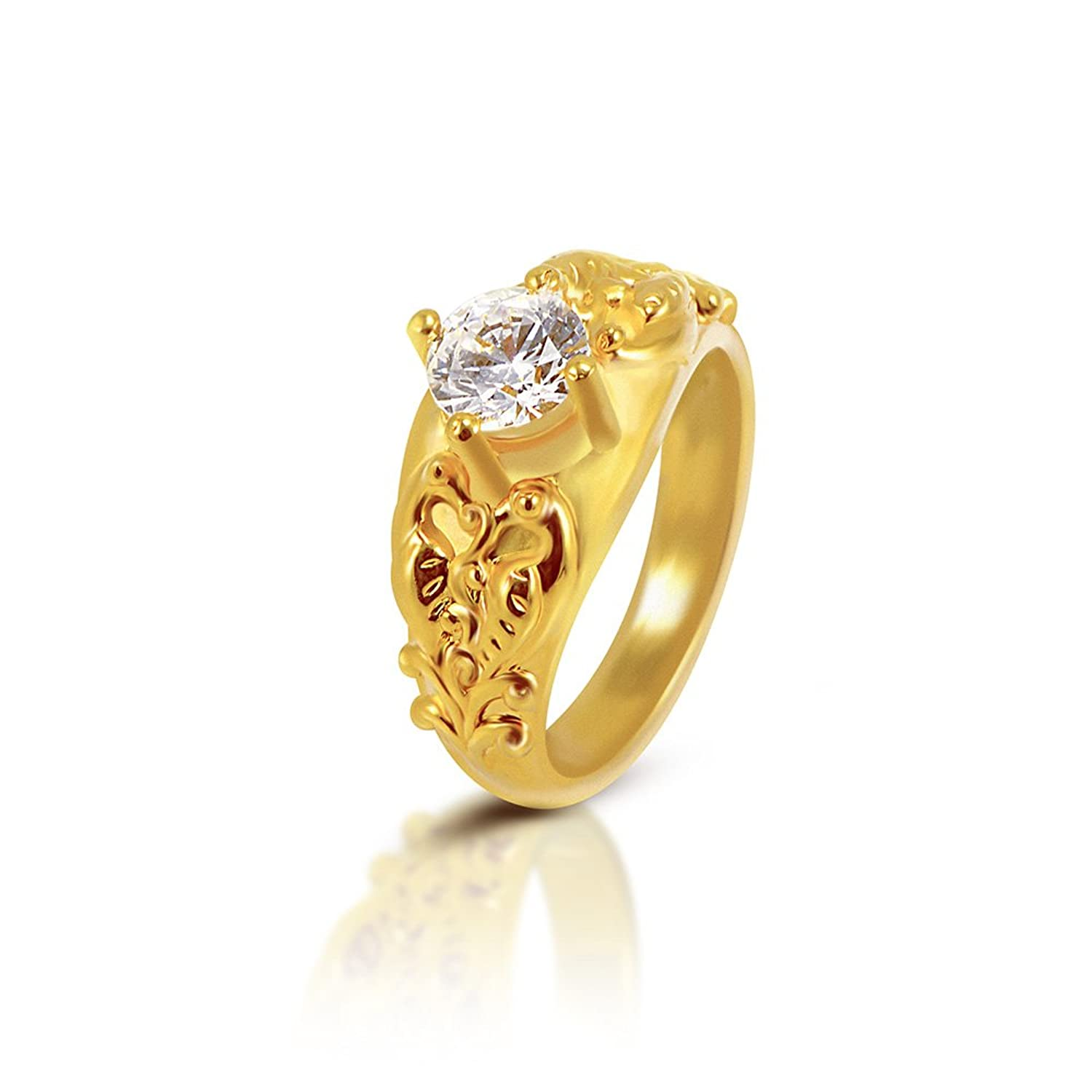 abhi ring with and gold diamond women jewelry rings for online