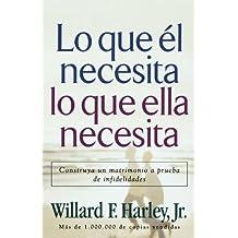 Lo que él necesita, lo que ella necesita/His Needs, Her Needs: Construya un matrimonio a prueba de infidelidades/Building an Affair-Proof Marriage