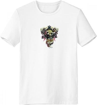 DIYthinker Patrón serpiente verde animales de cuello redondo camiseta blanca de manga corta Comfort Deportes camisetas de regalos - Multi - Media: Amazon.es: Ropa y accesorios