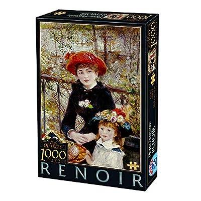 Unbekannt D Toys 2 Puzzle 1000 Renoir