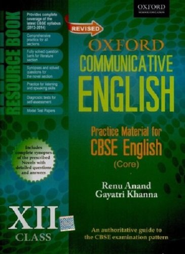 Read Online Revised Oxford Communicative English Resource Book: Class Xii PDF