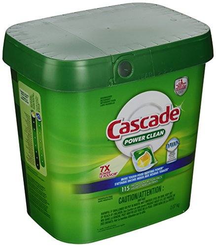 Cascade Power Clean, Fresh Scent, Action Pacs With Dawn 115 count