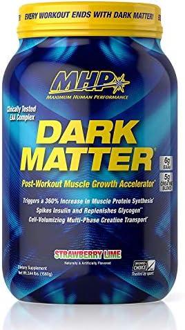 SPORTS NUTRITION SOURCE MHP Dark Matter nach dem training molkenprotein, Strawberry Lime, 1er Pack (1 x 1560 g)