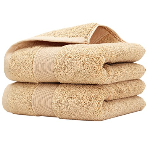 Pidada 100% Cotton Hand Towels Soft Highly Absorbent Luxury Towel for Bathroom 14 x 30 Inch Set of 2 - Infants For Versace