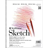 Pro-Art 255150 5-1/2-Inch by 8-1/2-Inch Strathmore Student Sketch Pad, 100-Sheet