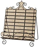 Your Hearts Delight Primitive Star Book Stand, 13-1/2 by 17-Inch