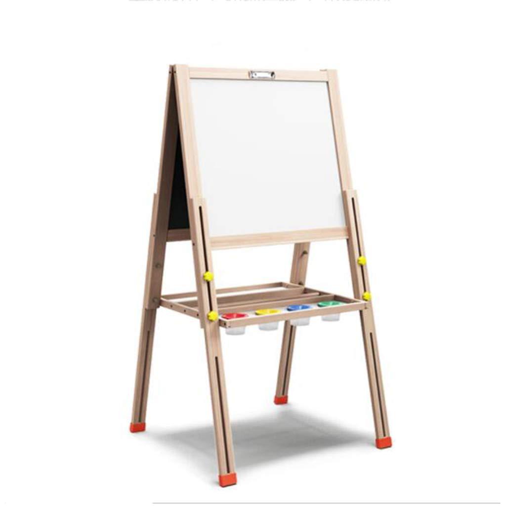 punto de venta barato D_HOME La pizarra pequeña magnética de de de doble cara del tablero de dibujo del bebé de los niños se puede levantar y bajar el tipo de soporte de caballete hogar pizarra blanca tablero de graffiti (44  3  barato