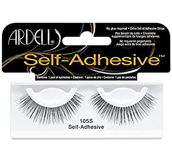 49dd0a4f4ea Ardell Glamour Multipack 4 Pair Lashes,105 Black by Ardell: Amazon.co.uk:  Beauty