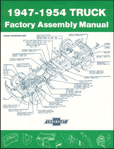 1947-1954 Chevrolet Truck Factory Assembly Manual ()