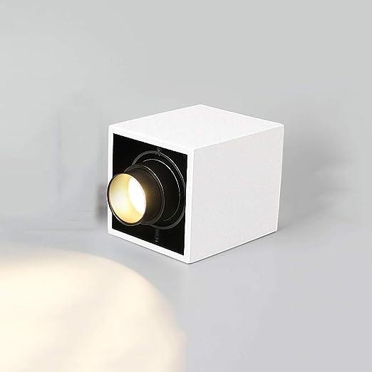 HviLit 10W Free Focus 15-60 ° Superficie Montada COB Proyector ...