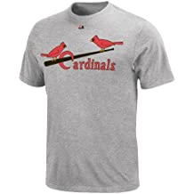 St. Louis Cardinals Stan Musial Throwback Cooperstown Grey T Shirt