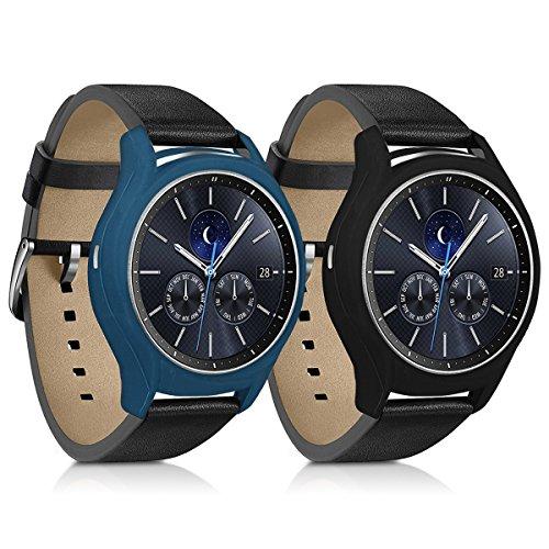 kwmobile Étui de protection pour Samsung Gear S3 Classic - housse pour bracelet de sport en silicone sans le tracker