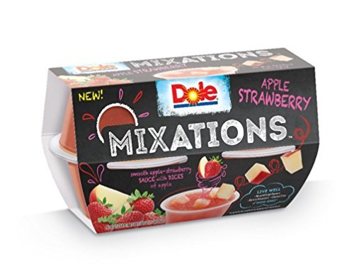 Dole Mixations, Apple Strawberry, 4 Ounce, 4 Cups