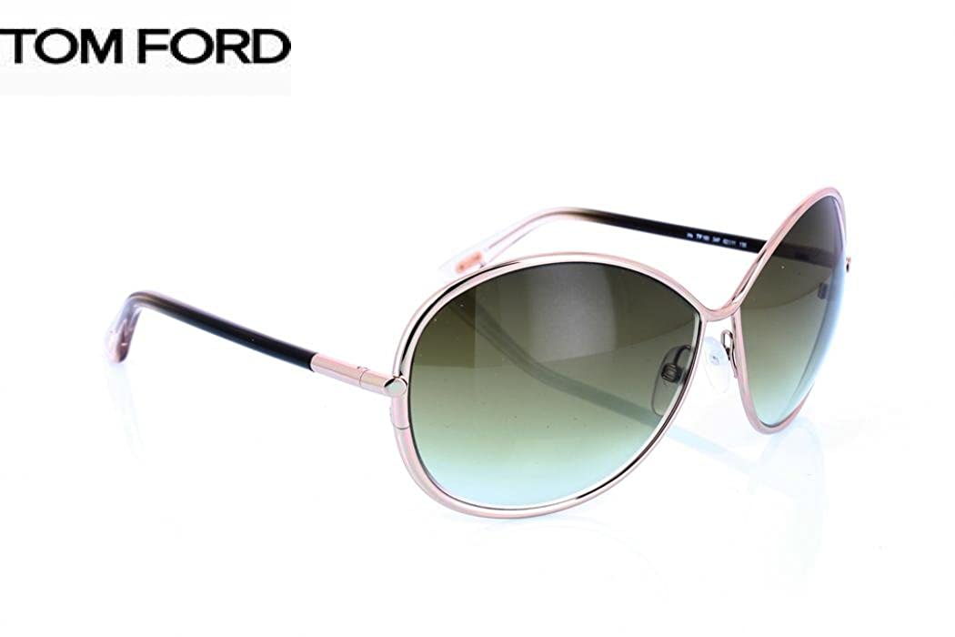 933b4f79fefe7 Amazon.com  Tom Ford Sunglasses TF 180 Iris 34P Metal Black - Gold Gradient  brown  Clothing