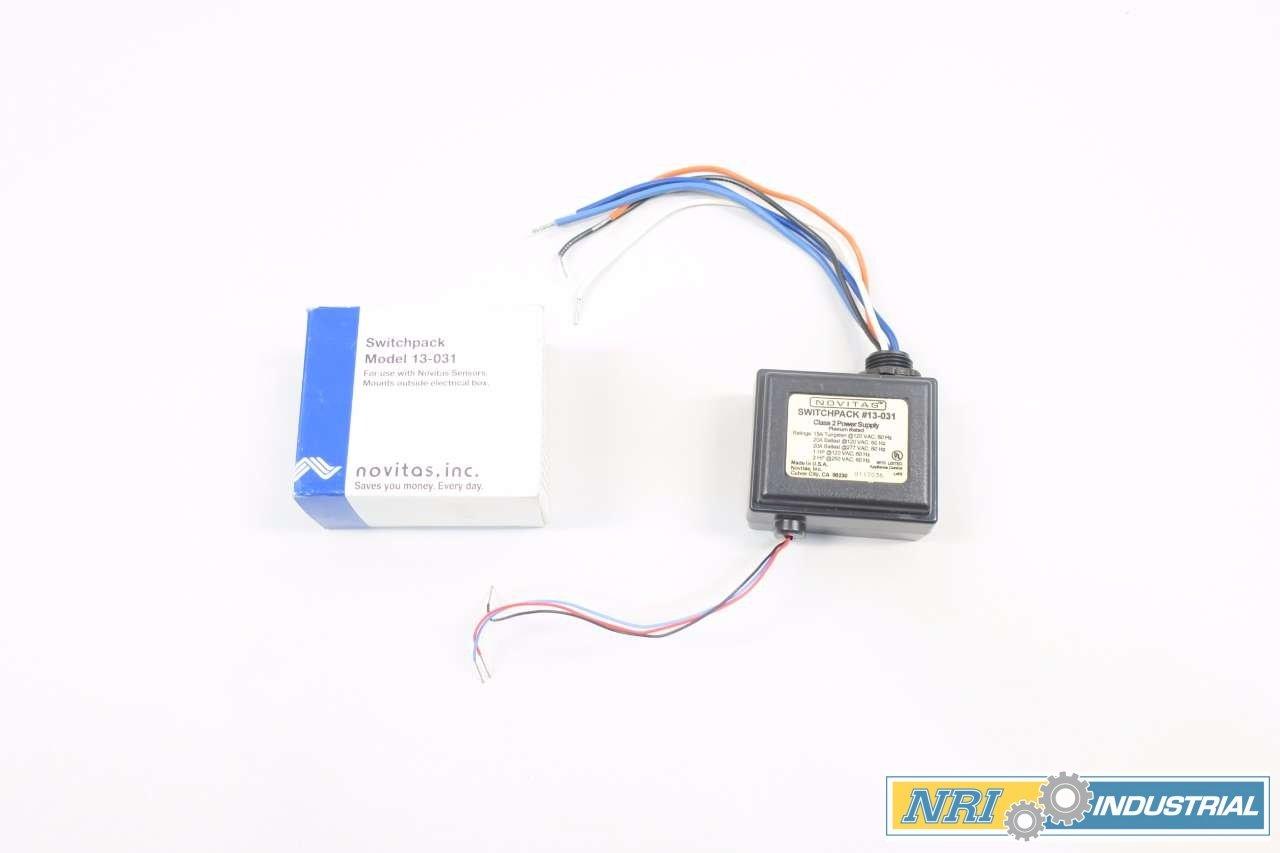 NOVITAS 13-031 SWITCHPACK 20A AMP 120V-AC 2HP D574197