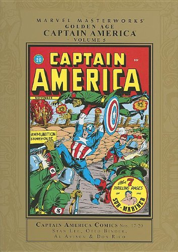 Marvel Masterworks: Golden Age Captain America 5