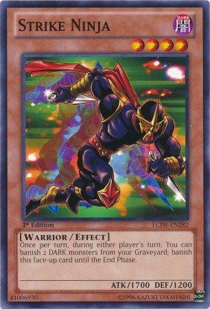 Yu-Gi-Oh! - Strike Ninja (LCJW-EN282) - Legendary Collection 4: Joeys World - 1st Edition - Common