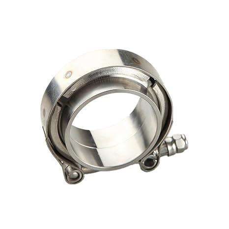 Amazon.com: Turbo abrazadera CNC acero inoxidable SS304 ...