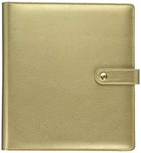 me & my BIG ideas  CODM-02 Create 365 The Happy Planner Mini Deluxe Cover, Gold