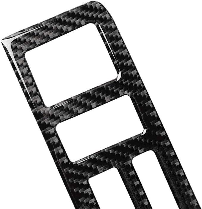 Fesjoy Carbon Interieur Instrument Armaturenbrett Zentralverkleidung Zierrahmen Aufkleber Dekorative Abdeckung f/ür BMW 3er E46 Dashboard-Zentralsteuerung 1998-2005