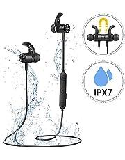 【NOUVELLE VERSION】Mpow S10 Ecouteur Bluetooth Magnétique,Ecouteur Bluetooth IntraAuriculaire Sans Fil IPX7,Casque Bluetooth IntraAuriculaire CVC6.0 &Micro,8H Autonomie pour Jogging,Course,IOS&Android