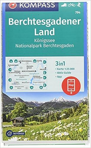 Berchtesgadener Land Karte.Kompass Wanderkarte Berchtesgadener Land Königssee Nationalpark