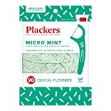 Plackers Micro Mint, 90 Count (Pack of 6)