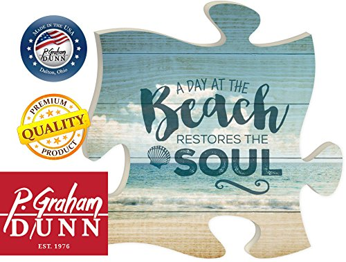 Day-at-the-Beach-Restores-the-Soul-12-x-12-Wall-Hanging-Puzzle-Piece-Plaque
