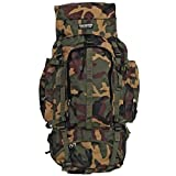 """Large 34"""" Camo Backpack Day Pack Hiking Mountaineer Camping Mountain Bag"""