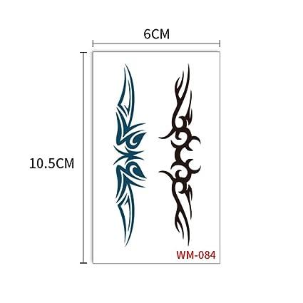 Etiqueta engomada del tatuaje fresco pequeño brazo tatuaje tatuaje ...