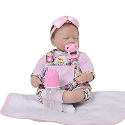 Amazon.com: XJJ Reborn Doll 16-inch 42CMthe Sleeping Dolls ...