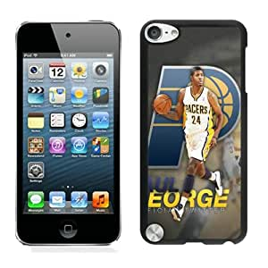Unique Custom Designed Cover Case For iPod Touch 5th With Indiana Pacers Paul George 1 Black Phone Case