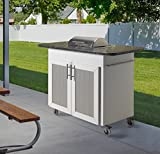 My Condo Grill Indoor Outdoor Electric Grill Cart Station