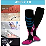 Lecky Compression Socks for Men&Women,20-30mmhg