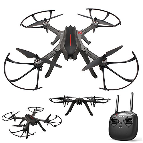 Amazingbuy FPV Racing Drone, MJX Bugs 3H B3H 2.4G 6-Axis Gyro Brushless Motor RC Drone Auto-Stabilized/Semi-Stabilized Mode Switching/360 Degree Flip Quadcopter (Standard Version (No Camera))