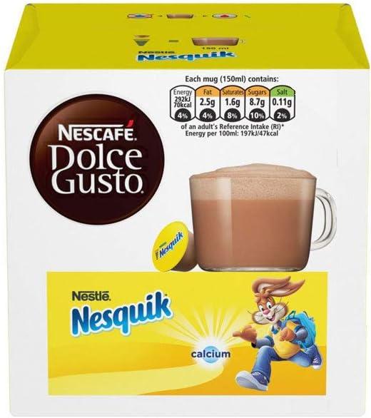Nestle - Nestlé nescafe Dolce Gusto nesquik Pack de 4: Amazon.es ...