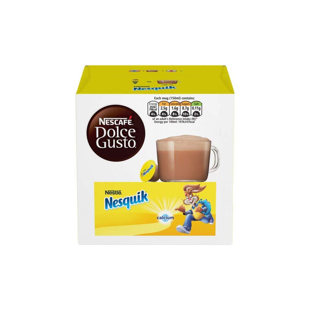 Nescafe Dolce Gusto German 6 X Nesquik - 6 X 16 Pieces
