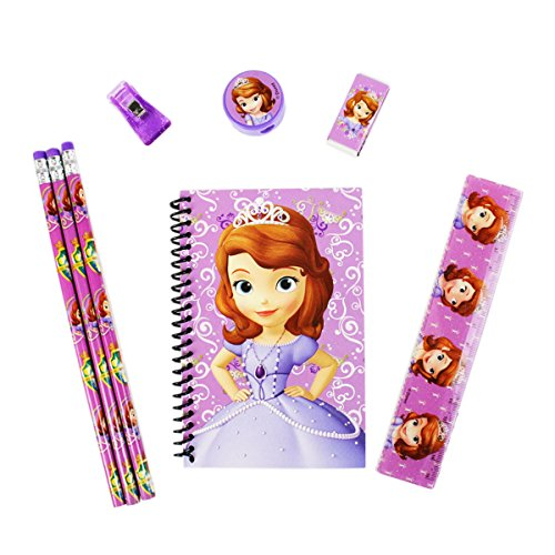 - Officially Licensed Disney 8 Piece Stationery Set - Princess Sophia